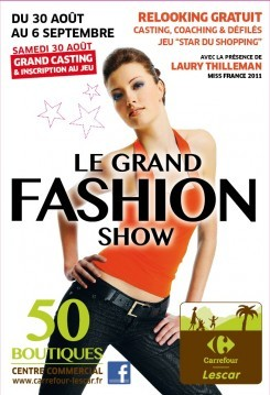carrefour-lescar-gd fashion show-abribus